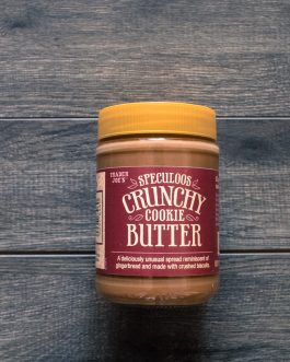 Trader Joe's Speculoos Cookie Buter + Crunchy Cookie Butter 2-Pack